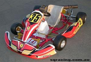 SQ Racing Kart Engine
