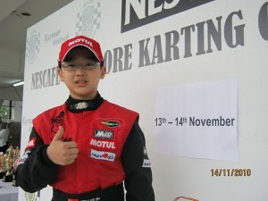 Jon Lee Singapore Champion