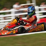 Jordi van Moorsel produced an epic Sunday drive in Rotax Junior.