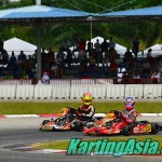 Race-winning overtaking move by Akito Saito on Lee Wai Cong