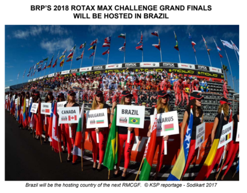 Brazil to Host 2018 Rotax Grand Finals
